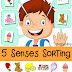 Five Senses Sorting Printable