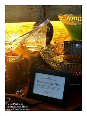 Cebu Parklane International Hotel Tea-based Cocktails: Black House Tea