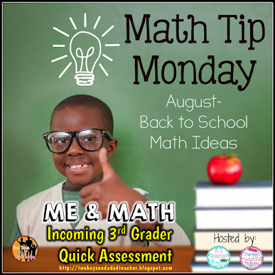 Back to School Math Tip for August