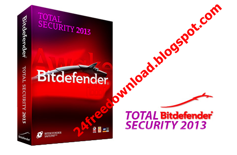 With total download security 2013 key free bitdefender activation