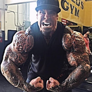 Celebrity body builder Rich Piana