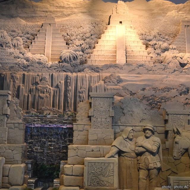 【砂之美術館】鳥取砂丘旁 用沙雕環遊世界