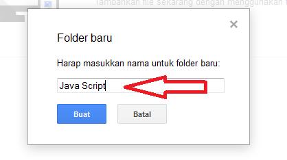 Cara Jitu Upload File Java Script CSS HTML ke Google Drive