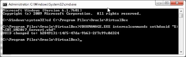 Cara Mengganti UUID di Virtual Box Untuk VHD UNBK