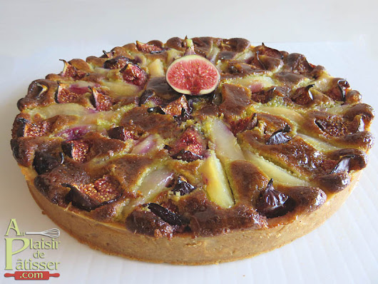 Tarte figue - poire