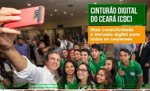 O Cinturão Digital do Ceará (CDC) tem levado internet em banda larga a prefeituras e órgãos públicos de todo o Estado
