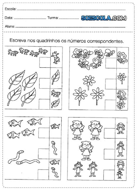 Acabo de receber em meu E-mail essas sugestões de Atividades de Matemática para alunos do ensino fundamental. São Atividades de Matemática para Séries Iniciais, ou seja, crianças de 1 a 5 anos de idade.