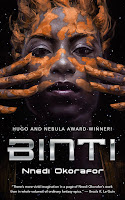 binti by nnedi okorafor book cover