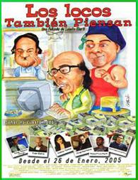Los locos también piensan (2005) | 3gp/Mp4/DVDRip Latino HD Mega