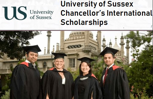 University of Sussex Chancellor's International Scholarship in the UK, 2019