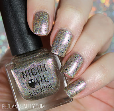 Night Owl Lacquer Chasing Dreams | Polish Pickup January 2018 | Crystals & Gemstones