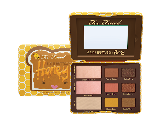 Too Faced, eyeshadow, palette, peanut butter and honey,