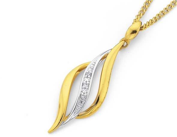 kalung emas cantik