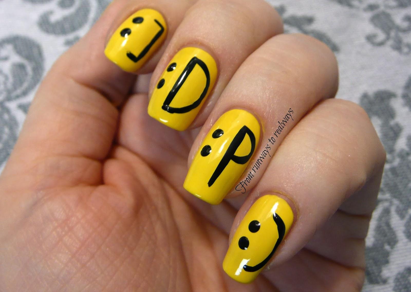 Notd Smiley Emoticons Kaitlyn Elisabeth Beauty