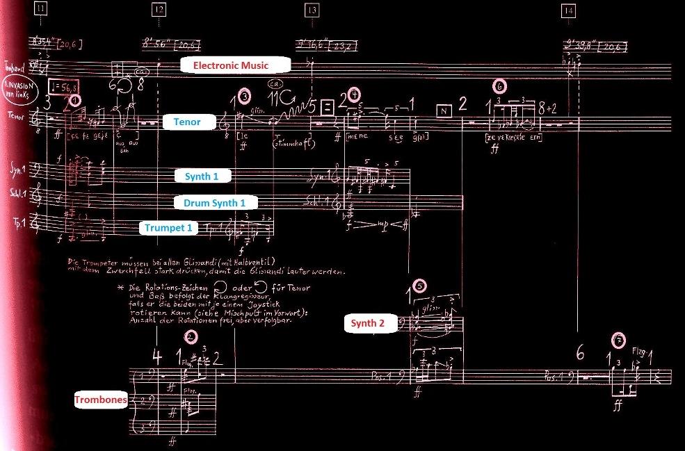 Stockhausen: Sounds in Space: INVASION – EXPLOSION, PIETÀ