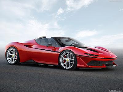 سيارات فيراري 2017 -2017 Ferrari J50