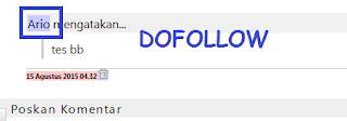Cara Mengetahui Dofollow Atau Nofollow Pada Blog