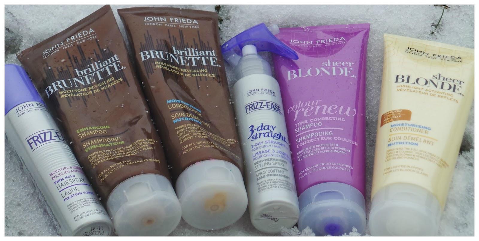 John Frieda Purple Shampoo Image of John Frieda Products