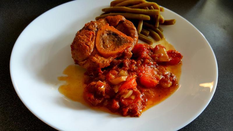 La cuisine claudine jarret de veau la charentaise au - Cuisiner jarret de veau ...