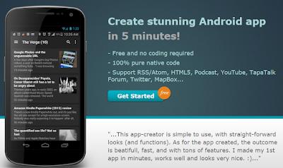 Cara membuat aplikasi android offline online
