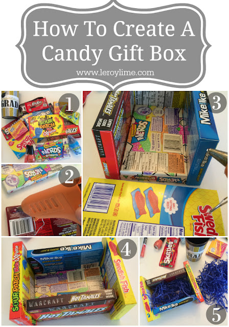 How to Create a Candy Gift Box - LeroyLime