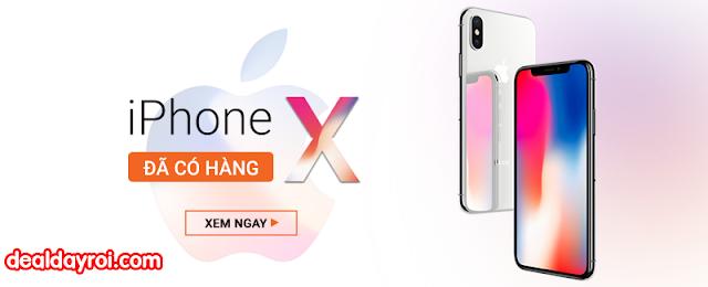 iphone x, hnammobile, deal đây rồi, deal khuyến mãi