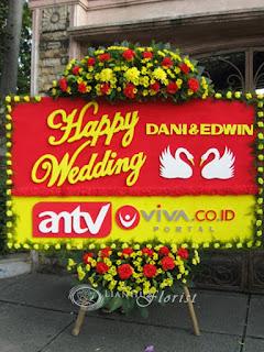 Karangan Bunga Perkawinan di Penjaringan