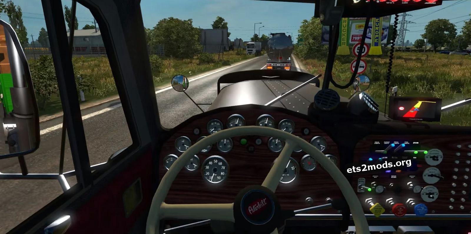 Peterbilt 351 truck mod v 5.0