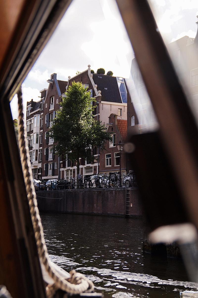 Amsterdam Reisetipps: Grachtenrundfahrt im Sommer unternehmen | Interrail Juli 2017 | Tasteboykott
