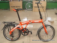 Sepeda Lipat Trinx PT062 7 Speed Shimano 20 Inci