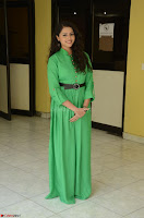Geethanjali in Green Dress at Mixture Potlam Movie Pressmeet March 2017 090.JPG