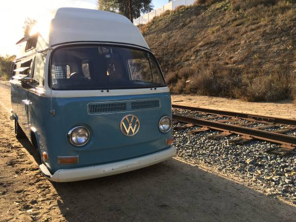1972 VW Adventure Camper Bus