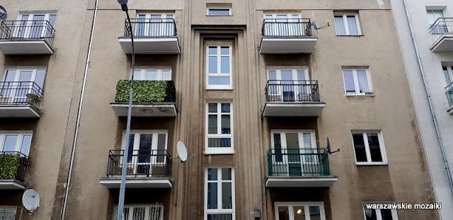 Warszawa Warsaw Mokotów ulice Mokotowa architektura miasto  kamienica