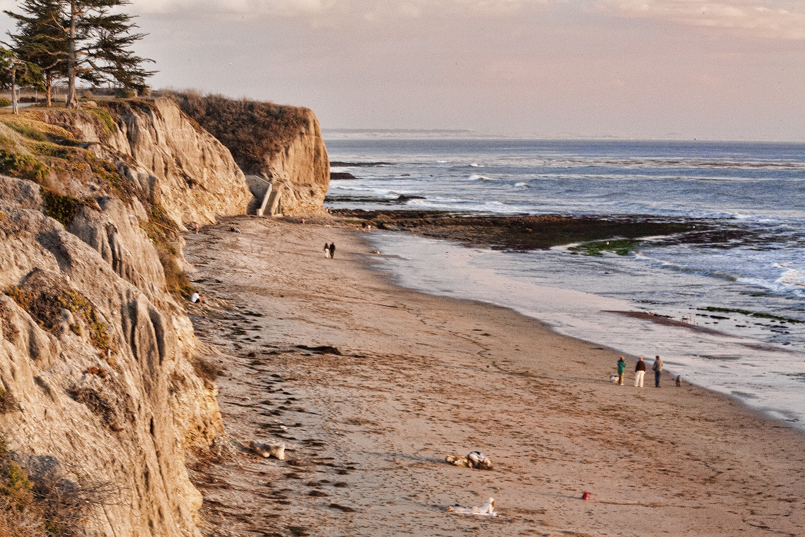 THE PACIFIC COASTLINE, CALIFORNIA – space by ANTHONY M ...  |Pacific Ocean California