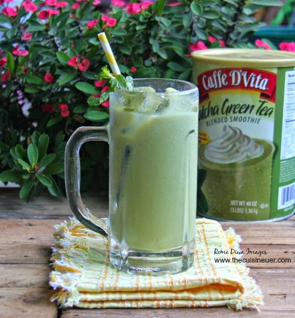 Cafe D'Vita Matcha Green Tea
