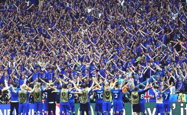 Фантастические болельщики сборной Исландии