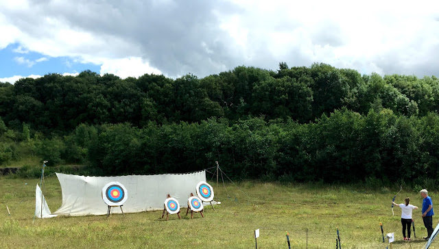 archery at walltown park northumberland