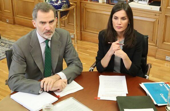 King and Queen received detailed information about the #CruzRojaResponde (Red Cross Responds) project