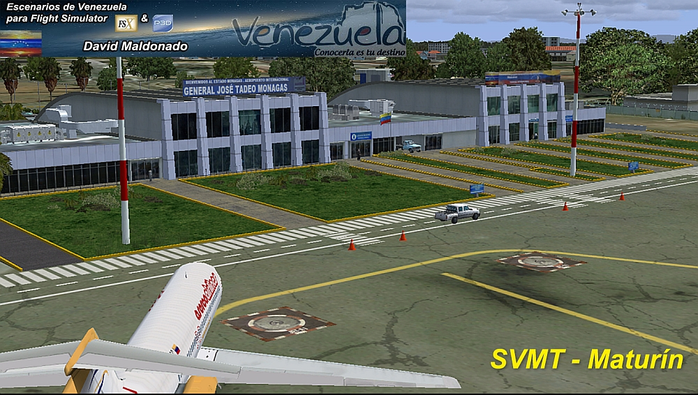Escenarios de Venezuela para Flight Simulator