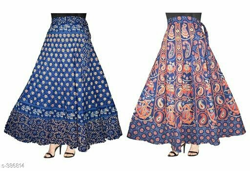Contemporary Women's Printed Skirt
