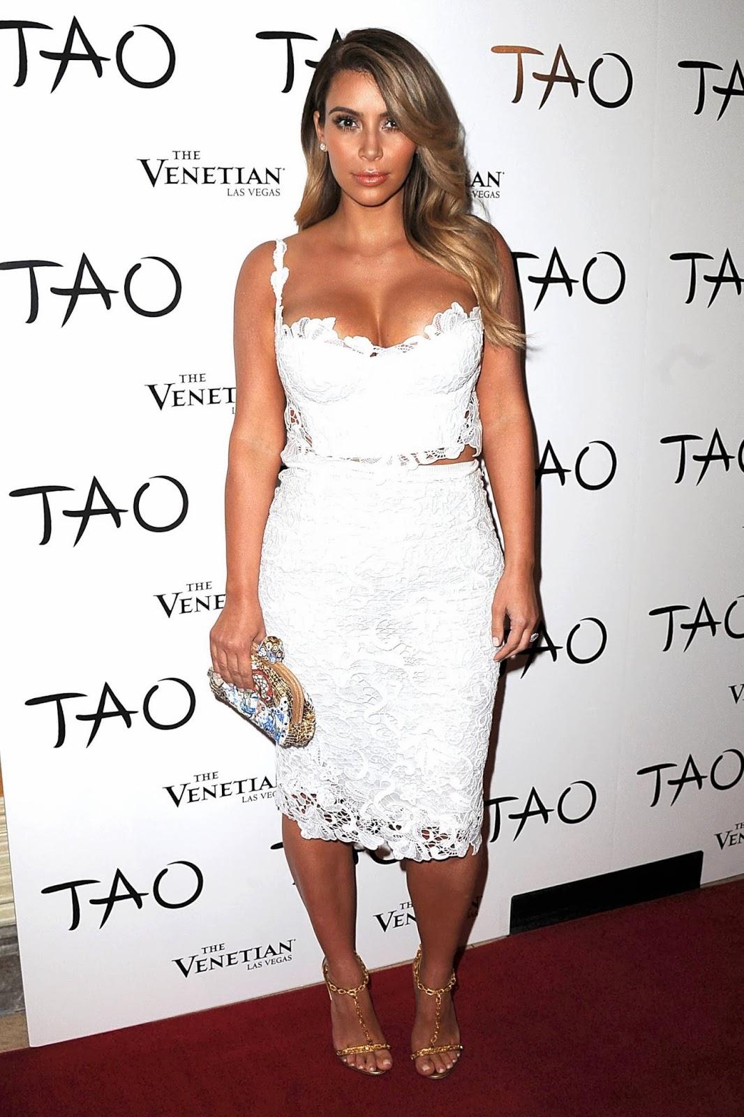 Kim Kardashian Birthday Party in Las Vegas Photos - Hot