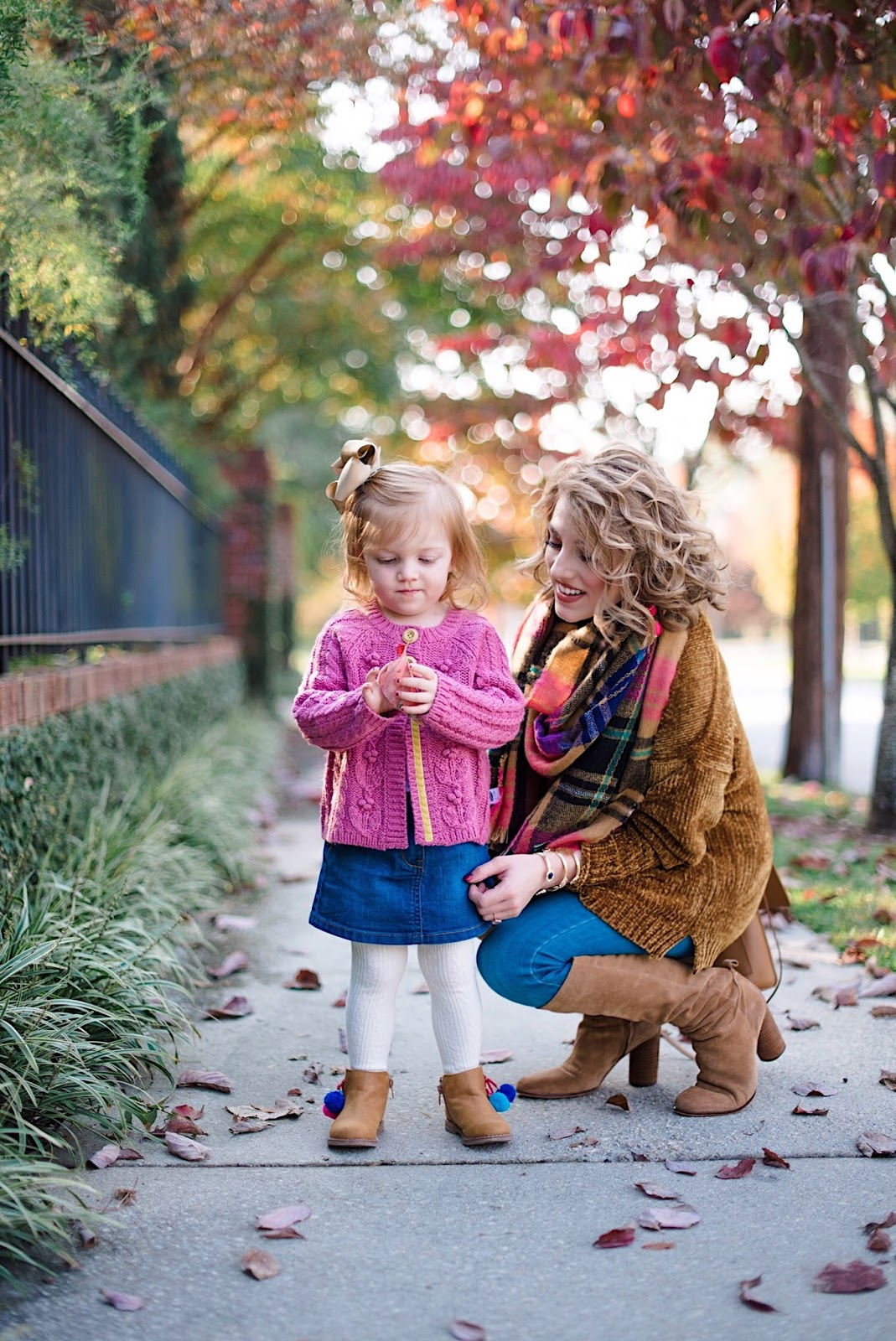 Mommy & Me Looks for Fall - Something Delightful Blog