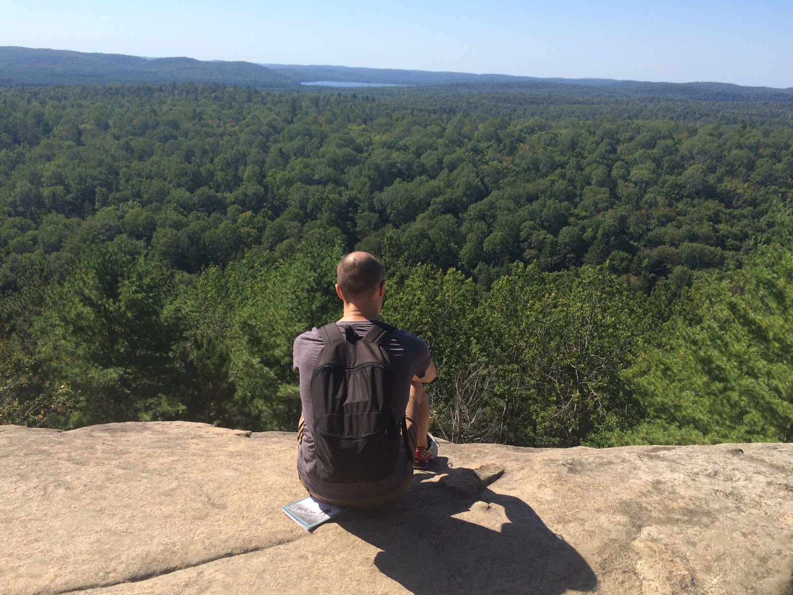 Algonquin Park in Canada - view from the top