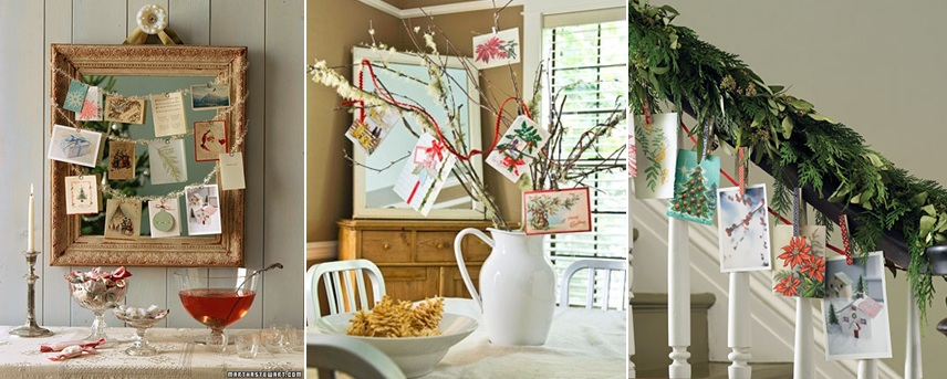 Christmas card display ideas association of design education - Christmas card display ideas ...