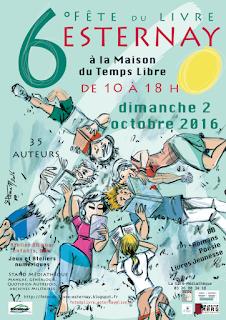 Fête du livre Esternay 2016