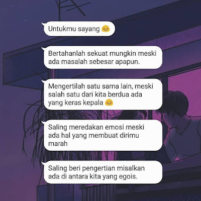 contoh spam chat romantis