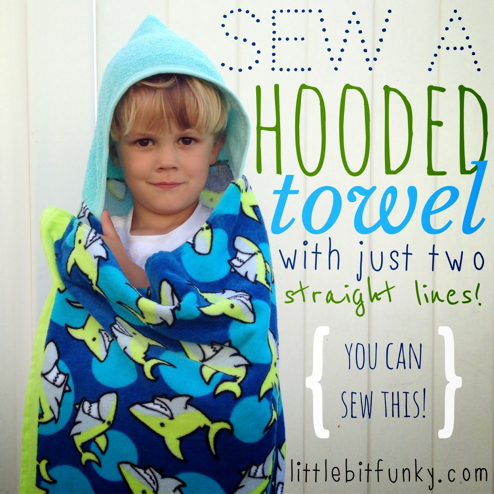 hooded towel robe