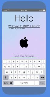 bbm mod like ios