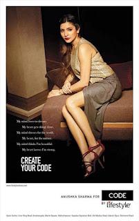 Anushka Sharma for Code by Lifestyle, Anushka Sharma Magazine Pictures Online IndianRamp.com
