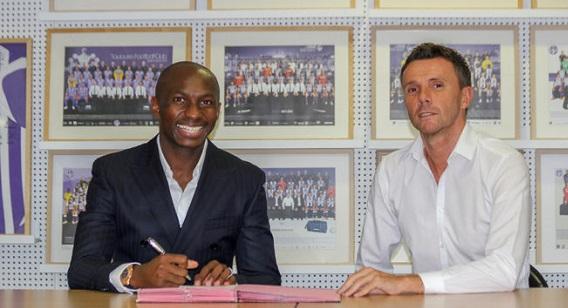 Officiel: Stéphane Mbia rejoint Toulouse FC
